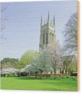 St Peter's Church - Stapenhill Wood Print