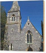 St Peters Marlow Wood Print