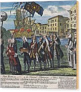 Stamp Act: Repeal, 1766 Wood Print