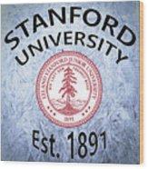 Stanford University Est. 1891 Wood Print