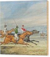 Steeplechasing Henry Thomas Alken Wood Print