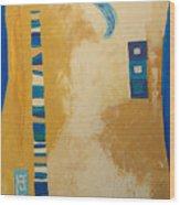 Steppe Metamorphosis 1 Wood Print