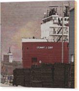 Stewart J Cort Wood Print