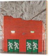 Stockholm Metro Art Collection - 005 Wood Print