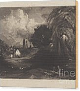 Stoke-by-neyland Wood Print