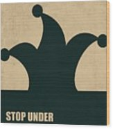 Stop Under Estimating Yourself Corporate Start-up Quotes Poster Wood Print