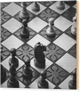 Strategy Wood Print