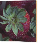 Strawberry 2 Wood Print