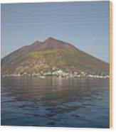 Stromboli Volcano, Aeolian Islands Wood Print