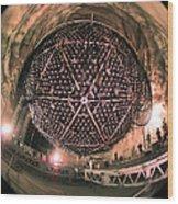 Sudbury Neutrino Observatory Sno Wood Print