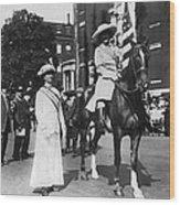 Suffragettes, 1913 Wood Print