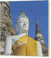 Sukhothai Historical Park Wood Print