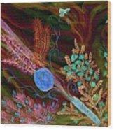 Sukkot-the Lulav Wood Print