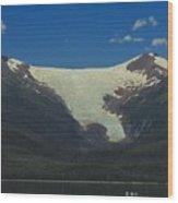 Sumdum  Glacier Wood Print