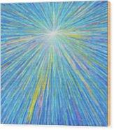SUN 5 Wood Print