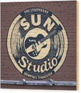 Sun Studio Memphis Tennessee Wood Print by Wayne Higgs