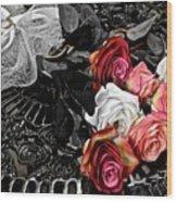 Sundial Bouquet Wood Print