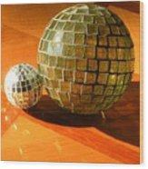 Sunlit Spheres Wood Print