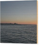 Sunrise At Townsends Inlet Wood Print