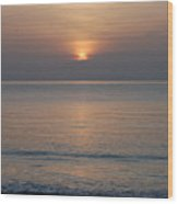 Sunrise In Vero Beach Wood Print