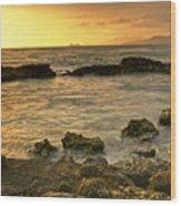 Sunrise Kaneohe Wood Print