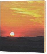 Sunset-1 Wood Print