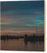 Sunset Pastels Wood Print