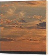Sunset Strip II Wood Print
