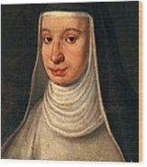 Suor Maria Celeste, Galileos Daughter Wood Print