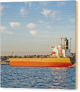 Supertanker Wood Print