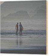 Surf Pals Wood Print