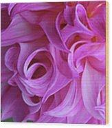 Swirls Of Romance Wood Print