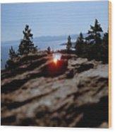Tahoe Wood Print