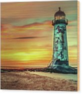 Talacre Lighthouse - Wales Wood Print