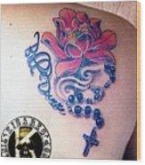 Tattoo Wood Print