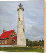 Tawas Point Lighthouse - Lower Peninsula, Mi Wood Print