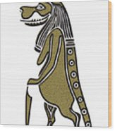 Taweret - Mythical Creature Of Ancient Egypt Wood Print