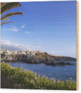 Tenerife - Alcala Wood Print