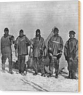 Terra Nova Expedition Wood Print