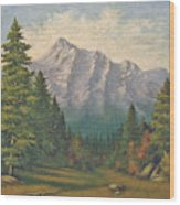 Teton Meadow Wood Print