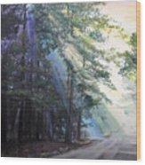 Texas Morning Wood Print