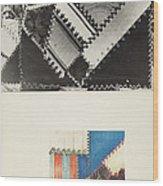 Textile: Technique Demonstration Wood Print