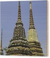 Thailand Architecture Wood Print