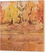 Thankful  Wood Print