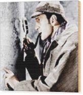 The Adventures Of Sherlock Holmes Wood Print by Everett