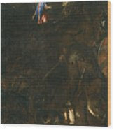 The Agony In The Garden Wood Print