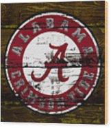 The Alabama Crimson Tide Wood Print