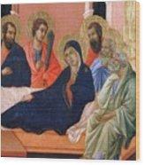 The Apostles Of Maria Fragment 1311  Wood Print