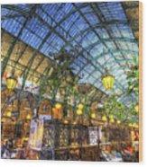 The Apple Market Covent Garden London Art Wood Print