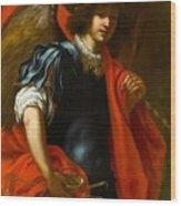 The Archangel Michael Wood Print